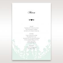 Arch of Love wedding venue menu card