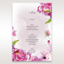 Enchanting Forest 3D Pocket wedding reception table menu card