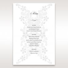 Everlasting Love reception menu card stationery item