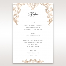 Imperial Pocket menu card design