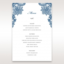 Noble Elegance menu card