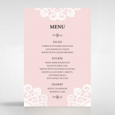 Oriental Charm reception menu card stationery item