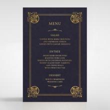 Regal Frame wedding stationery table menu card item