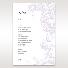Romantic Rose Pocket menu card stationery item