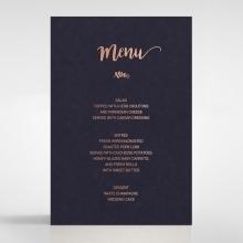 Rustic Lustre menu card stationery item