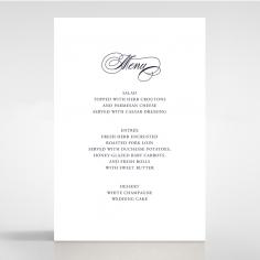 Timeless Romance reception menu card stationery item