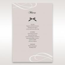 Wedded Bliss wedding venue table menu card stationery item