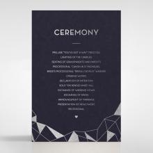 Digital Love order of service stationery invite