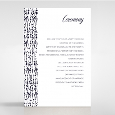 Enchanting Halo order of service stationery card