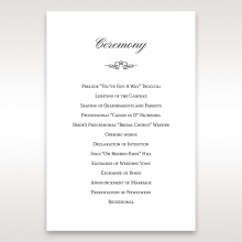 Fragrance order of service card design