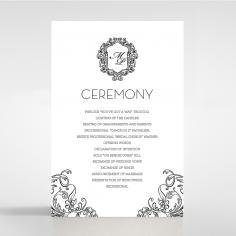 Paper Aristocrat wedding stationery order of service invite
