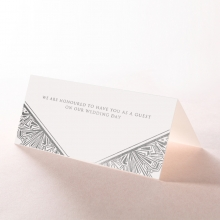 Ace of SpPDes wedding reception table place card stationery design