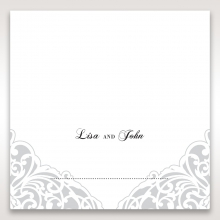 An Elegant Beginning place card stationery item