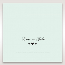 Arch of Love wedding stationery table place card