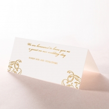 Aristocrat wedding venue table place card stationery