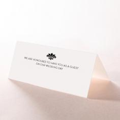 Art Deco Romance wedding venue place card stationery design