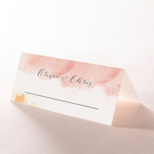 Blushing Rouge reception place card stationery item
