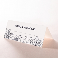 Botanical Canopy reception table place card stationery item