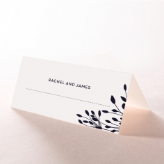 Bursting Bloom wedding venue place card stationery design