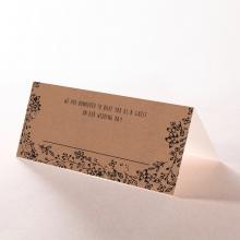 Charming Garland wedding place card design