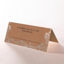 Charming Garland wedding place card stationery