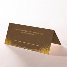 Dusted Glamour wedding place card