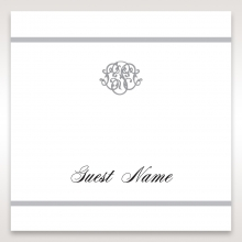 Elegant Seal wedding place card