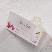 Enchanting Forest 3D Pocket reception table place card stationery item
