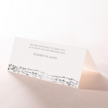Enchanting Halo wedding stationery table place card