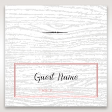 Eternity place card stationery design