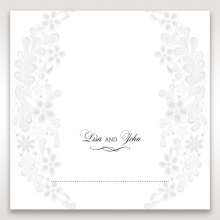 Everlasting Love wedding table place card stationery design