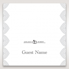 Everly place card design