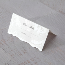 Exquisite Floral Pocket wedding stationery place card item