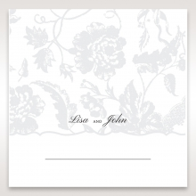 Exquisite Floral Pocket wedding table place card stationery design