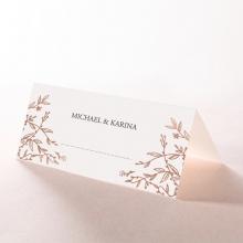 Fleur wedding stationery table place card design