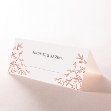 Fleur wedding stationery table place card
