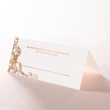 Flourishing Garden Frame wedding venue place card stationery item