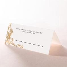 Flourishing Garden Frame wedding table place card stationery item