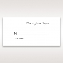Fragrance place card design