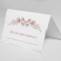 Fragrant Romance wedding table place card stationery item