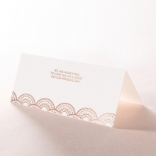 Gatsby Glamour reception table place card stationery