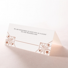 Gatsby Glamour place card stationery item