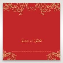 Golden Charisma wedding place card stationery item