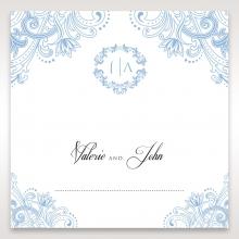 Graceful Wreath Pocket wedding venue place card stationery item