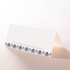 Gradient Glamour table place card stationery