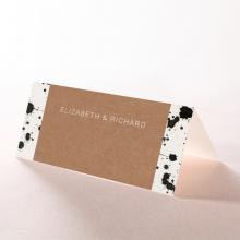 Graffiti wedding table place card stationery item