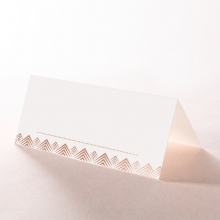 GrPDient Glamour reception place card stationery design