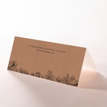 Hand Delivery reception table place card