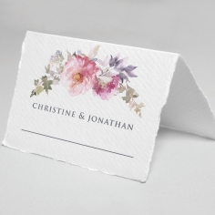 Happily Ever After wedding reception table place card stationery design