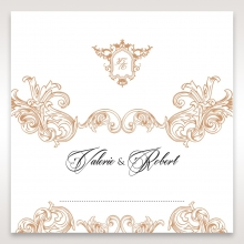 Imperial Pocket wedding venue place card stationery